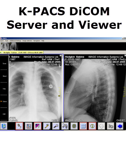 K Pacs Free Dicom Server And Dicom Viewer