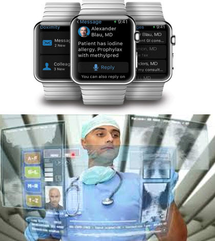 IBM Watson Healthcare Cloud and Apple Watch