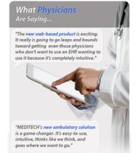 Meditech 6 Web Based EMR