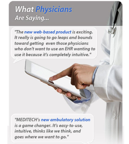 Meditech 6 Web Based EMR